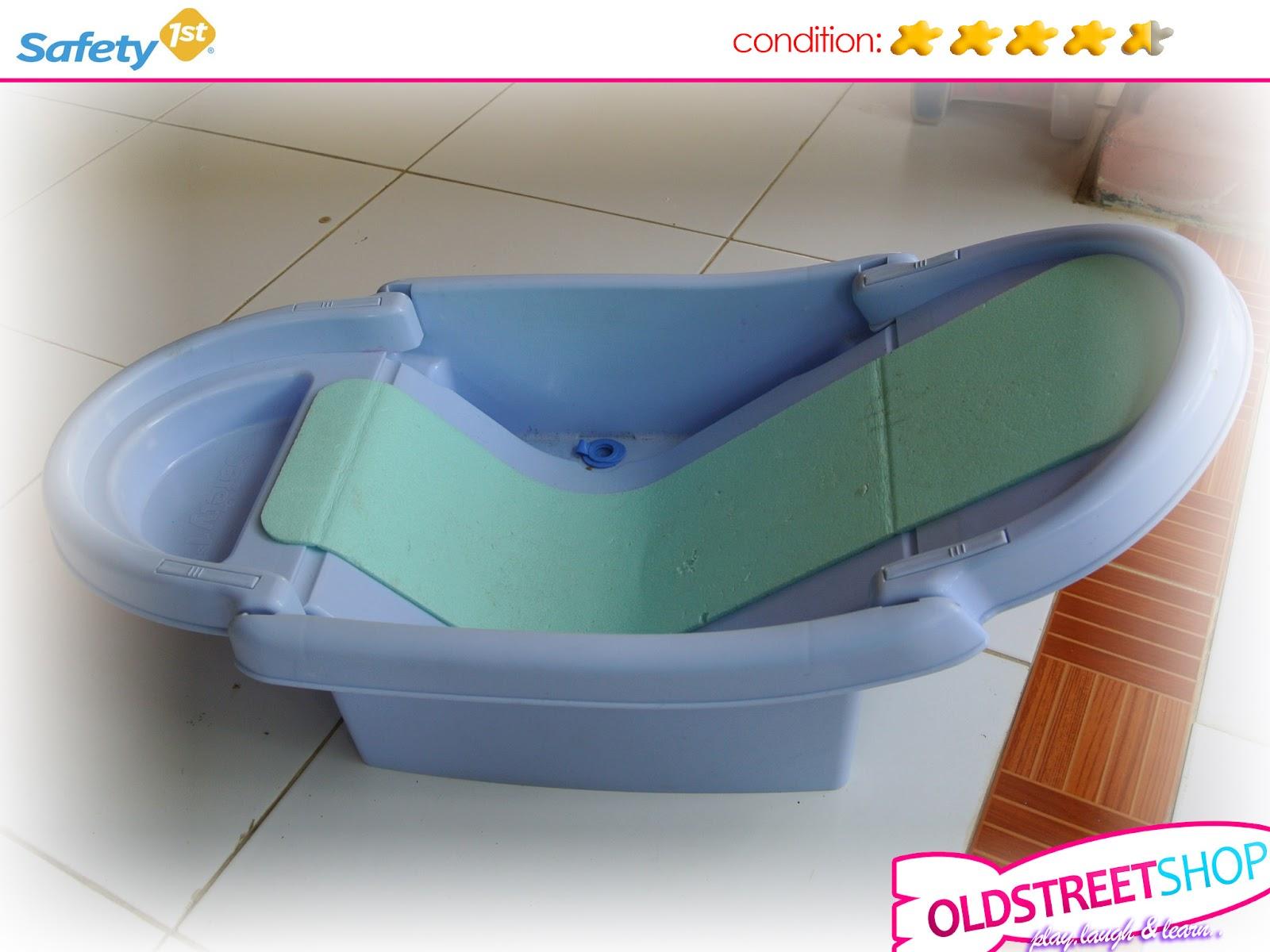 oldstreetshop safety first foldable bath tub. Black Bedroom Furniture Sets. Home Design Ideas