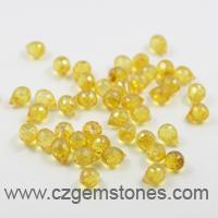 teardrop yellow cz beads supplier