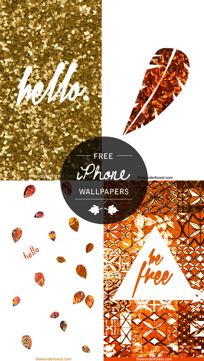 free fall inspired iphone ipod wallpapers enjoy wonder