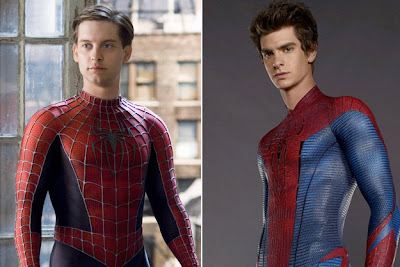 Tobey Maguire Andrew Garfield Spiderman