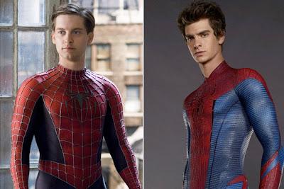 Tobey Maguire Andrew Garfield Spiderman