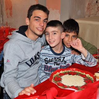 Palermo pranzo di Natale Comunità di Sant'Egidio