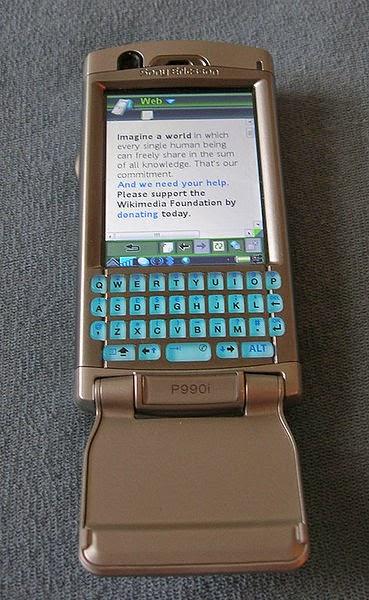Foto Sony Ericsson P990i