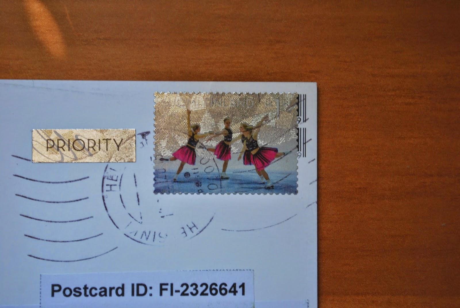 Открытка Отправка в почтовом отделении и через ящик 91