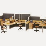 Kantor Partisi 3-Staff Configuration Uno Executive Partition