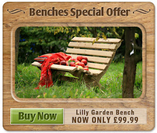 Lilly Garden Bench Sale