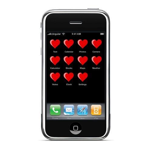 Las mejores aplicaciones iPhone para San Valentín