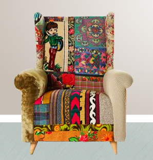 lebanon who design and make stunning bohemian style furniture from recycled ancient textiles and tapestries found along the silk road bohemian style furniture