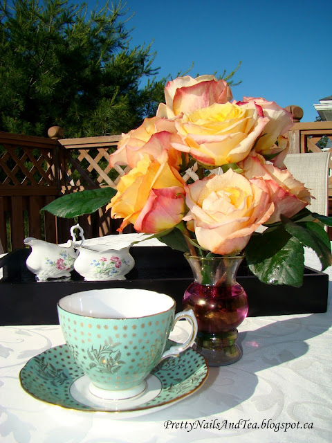 Roses and Tea Cups