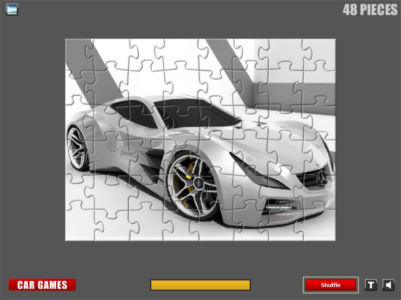 Race car games online mercedes benz jigsaw for Mercedes benz car racing games