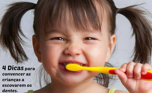4 Dicas para convencer as crianças a escovarem os dentes