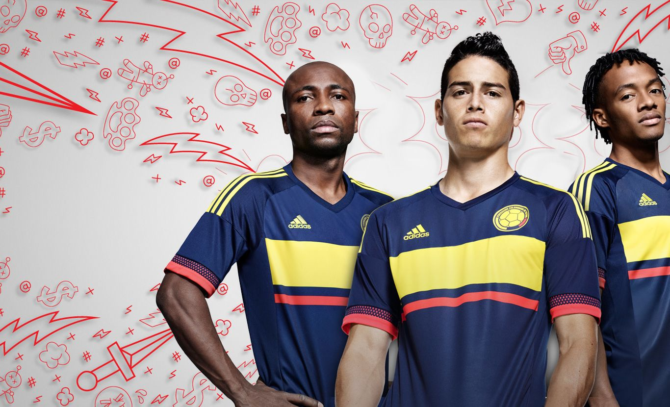 Camiseta Adidas Seleccion Colombia 2015 New Adidas Colombia 2015