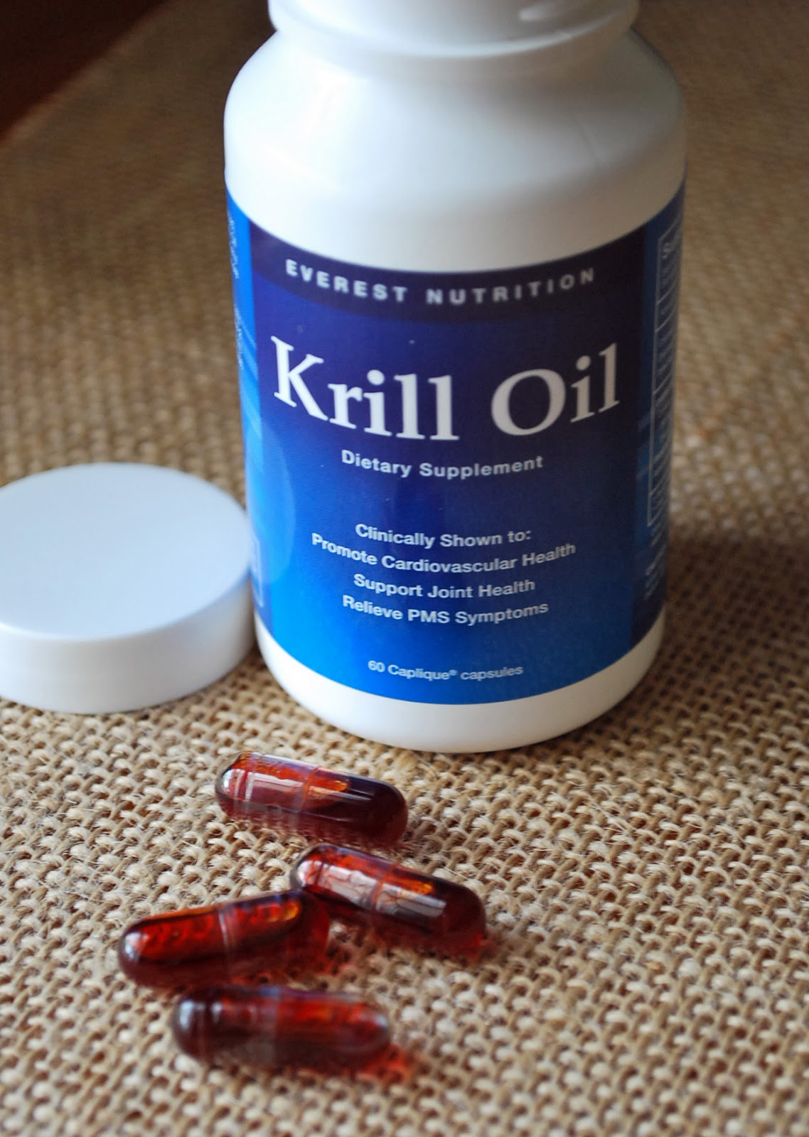 Amee 39 s savory dish reviews the benefits of krill oil for Viva labs fish oil