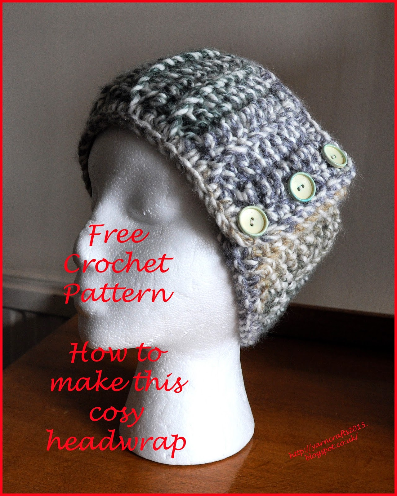 crochet chunky ear warmer