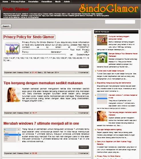 Blog SindoGlamor