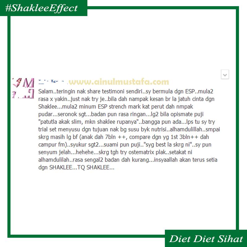 testimonial shaklee esp
