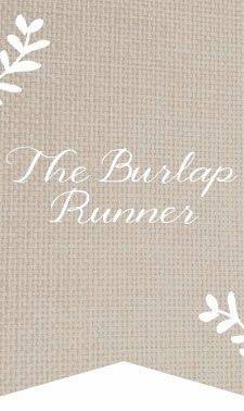 The Burlap Runner