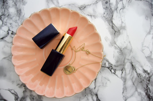 Estee Lauder Pure Envy lipstick in Carnal. Can't get your hands on the Kendell Jenner shade? this is almost the exact colour.
