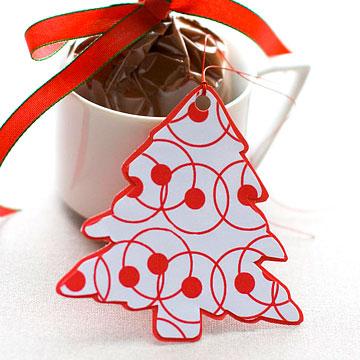 Homemade Christmas Gift Tags Templates