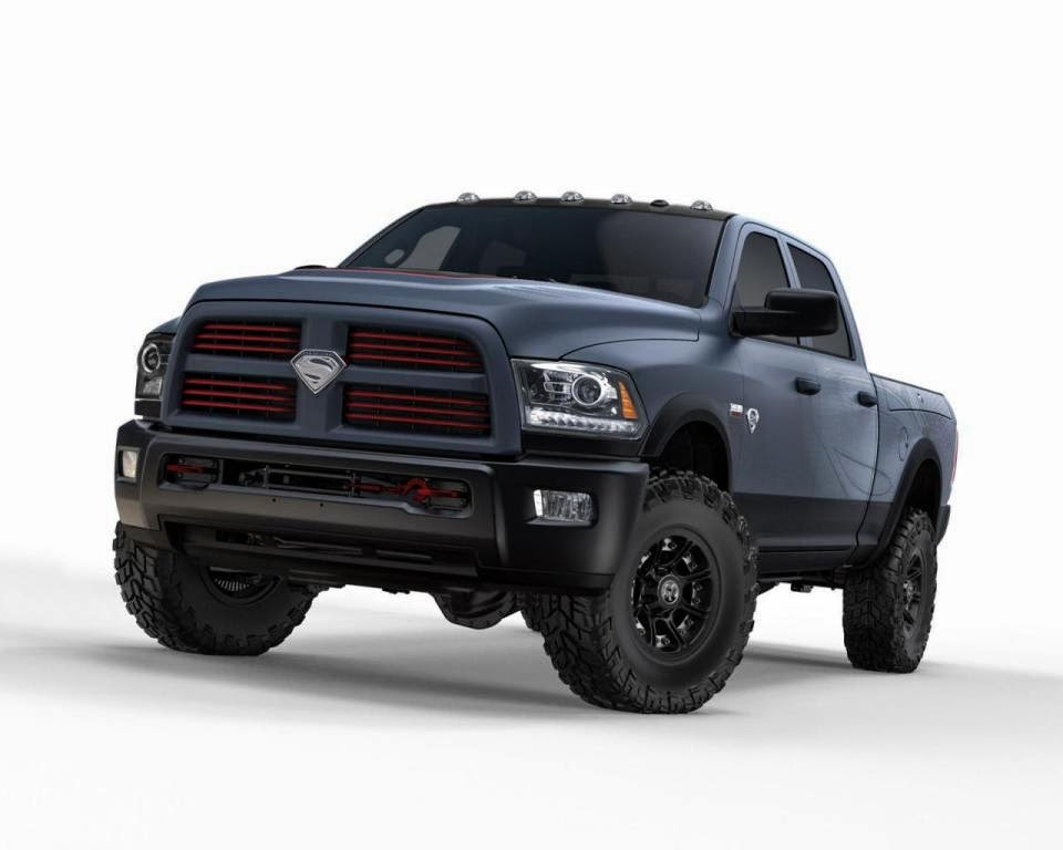 2015 Ram 2500 Power Wagon of Superman at auction