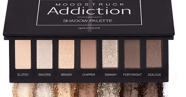 Vikki S Make Up Box New Releases Moodstruck Addiction Eyeshadow