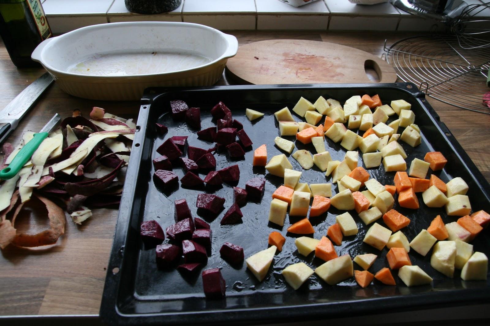 paarse aardappel recept oven
