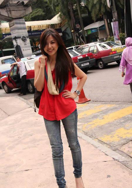 foto vj franda cantik pakai baju merah koleksi foto vj franda cantik ...