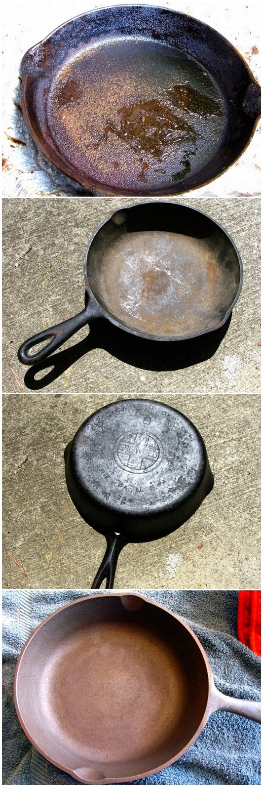 How To Recondition Cast Iron Cookware