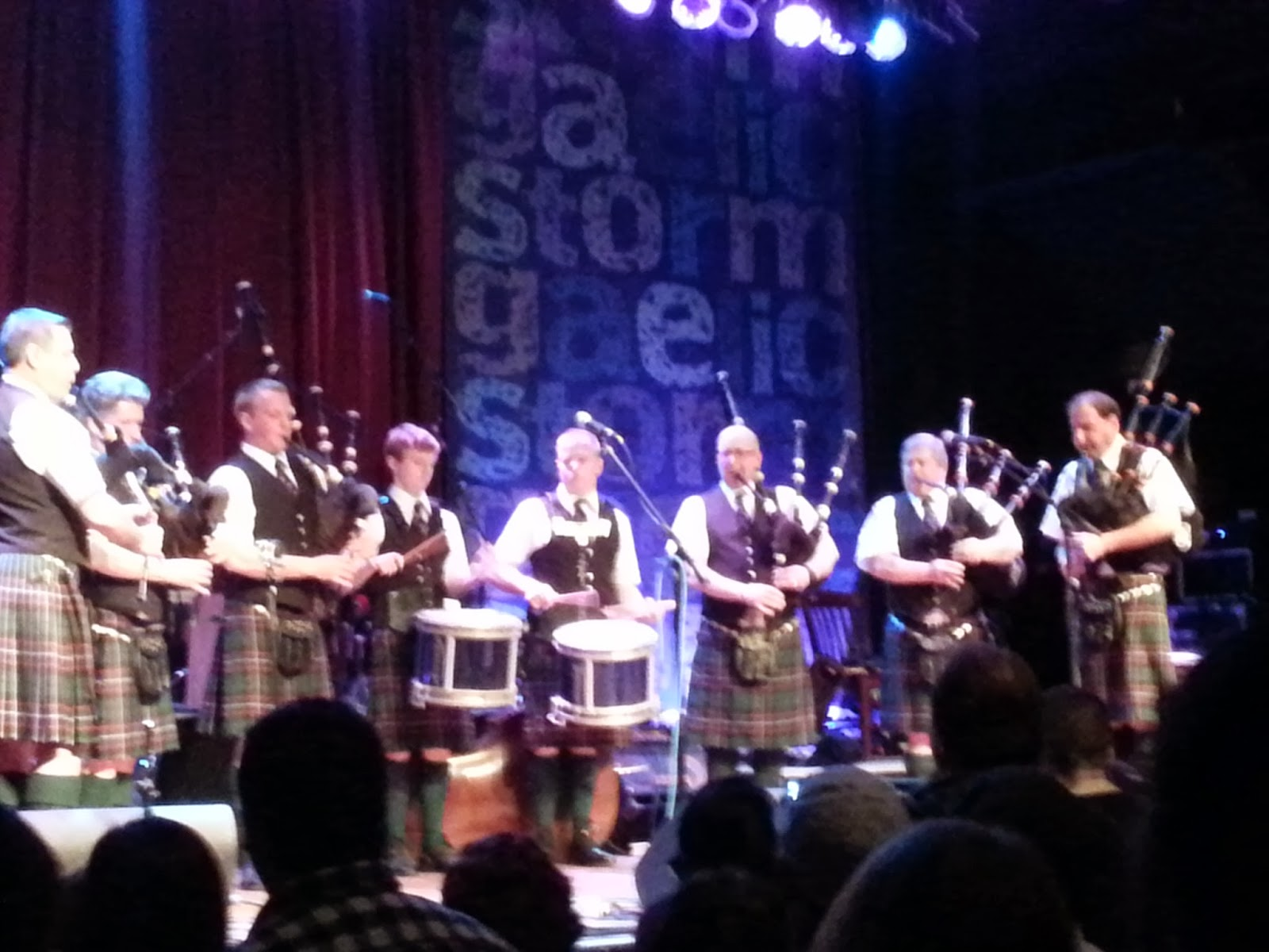 we've been there before: concert review #6 - gaelic storm @ house