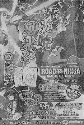 Shonen Jump 35 Menma Naruto 2 - Siapakah Menma ? Versi Lain Naruto di Road to Ninja