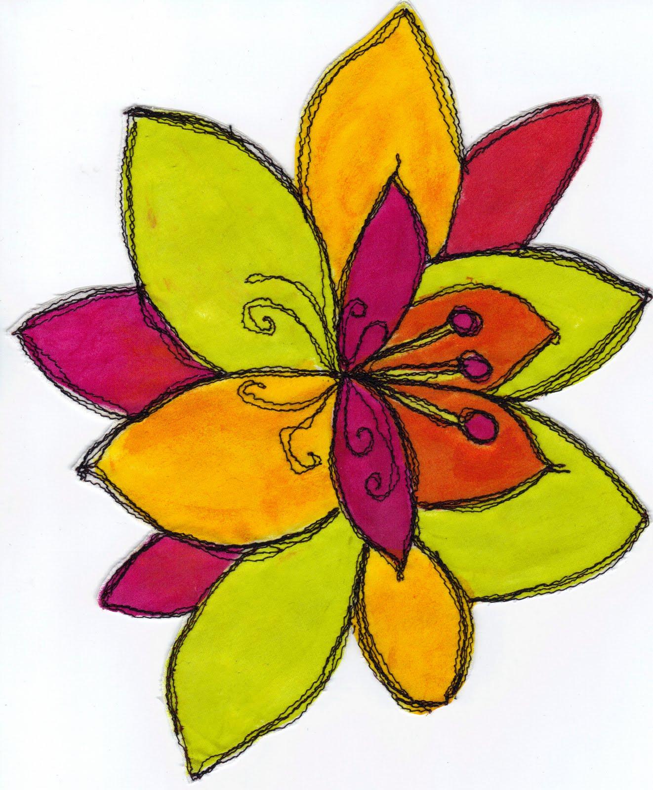 Easy To Draw Flowers Beautiful Flowers