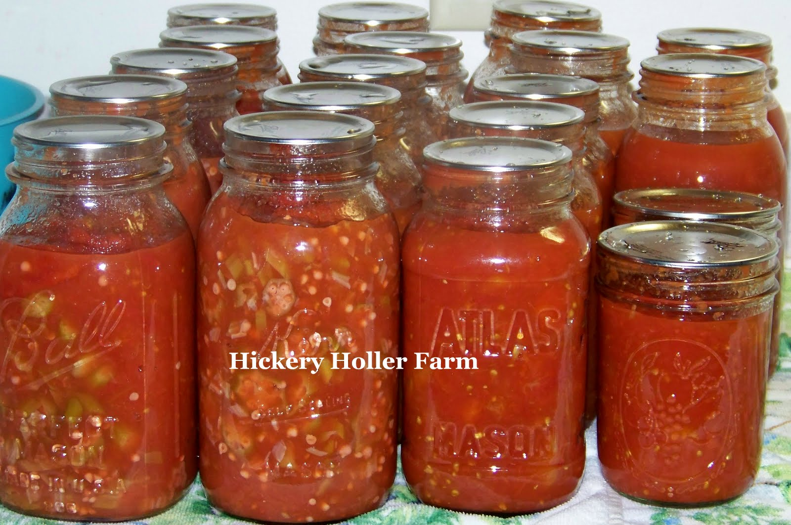 Hickery Holler Farm: Canning Okra And Tomatoes