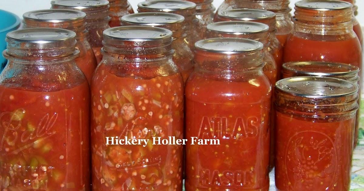Hickery Holler Farm: August 2011