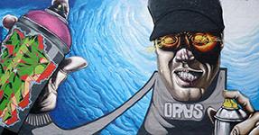 Graffiti en Pontevedra