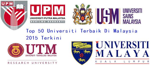 ranking universiti terbaik Malaysia