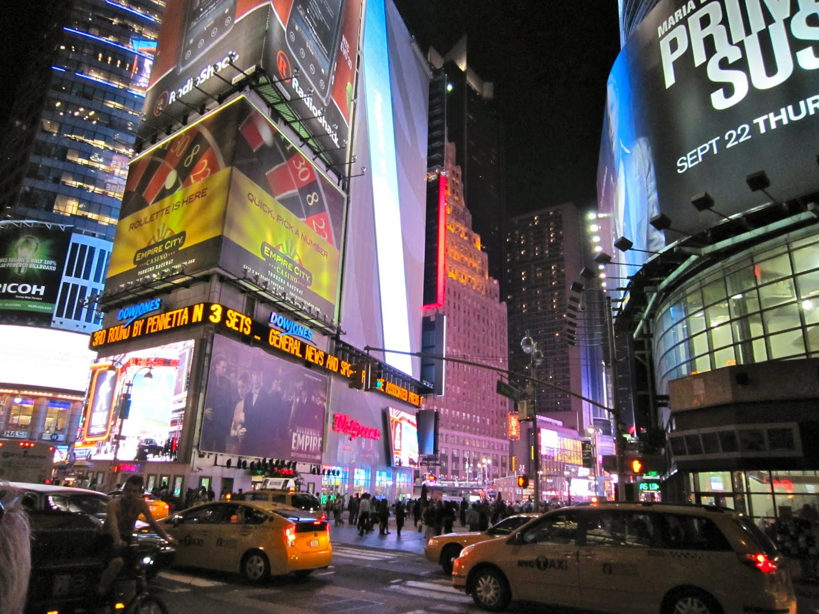Oasis's Journey: New York City