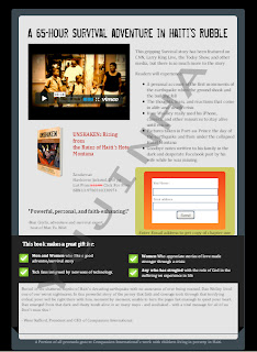 HTML email template