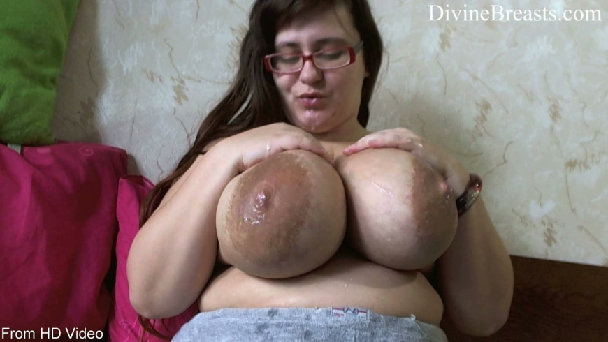 huge lactating tits fucked