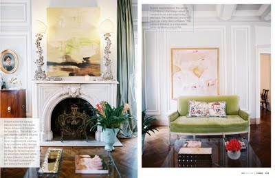 Chinoiserie Chic Green Velvet And Chinoiserie