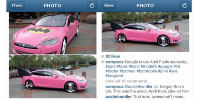 Mobil Batman Pink Di Pakai Bos Google?