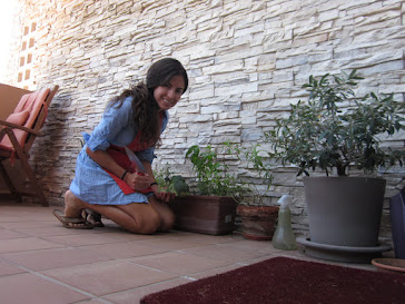 """Visitando mi """"plantación"""" de especias ;)"""