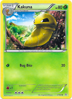 Kakuna Primal Clash Pokemon Card