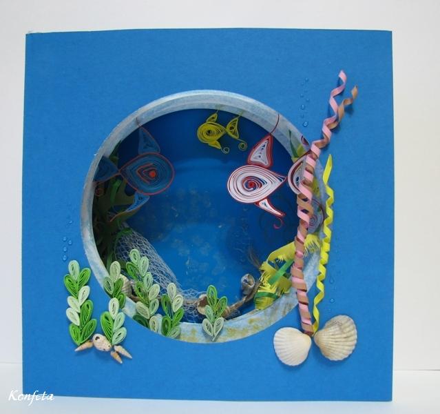 Поделка своими руками подводный мир