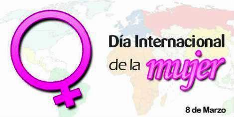 Imagen por el Día Internacional de la Mujer (Símbolo del sexo de la mujer)