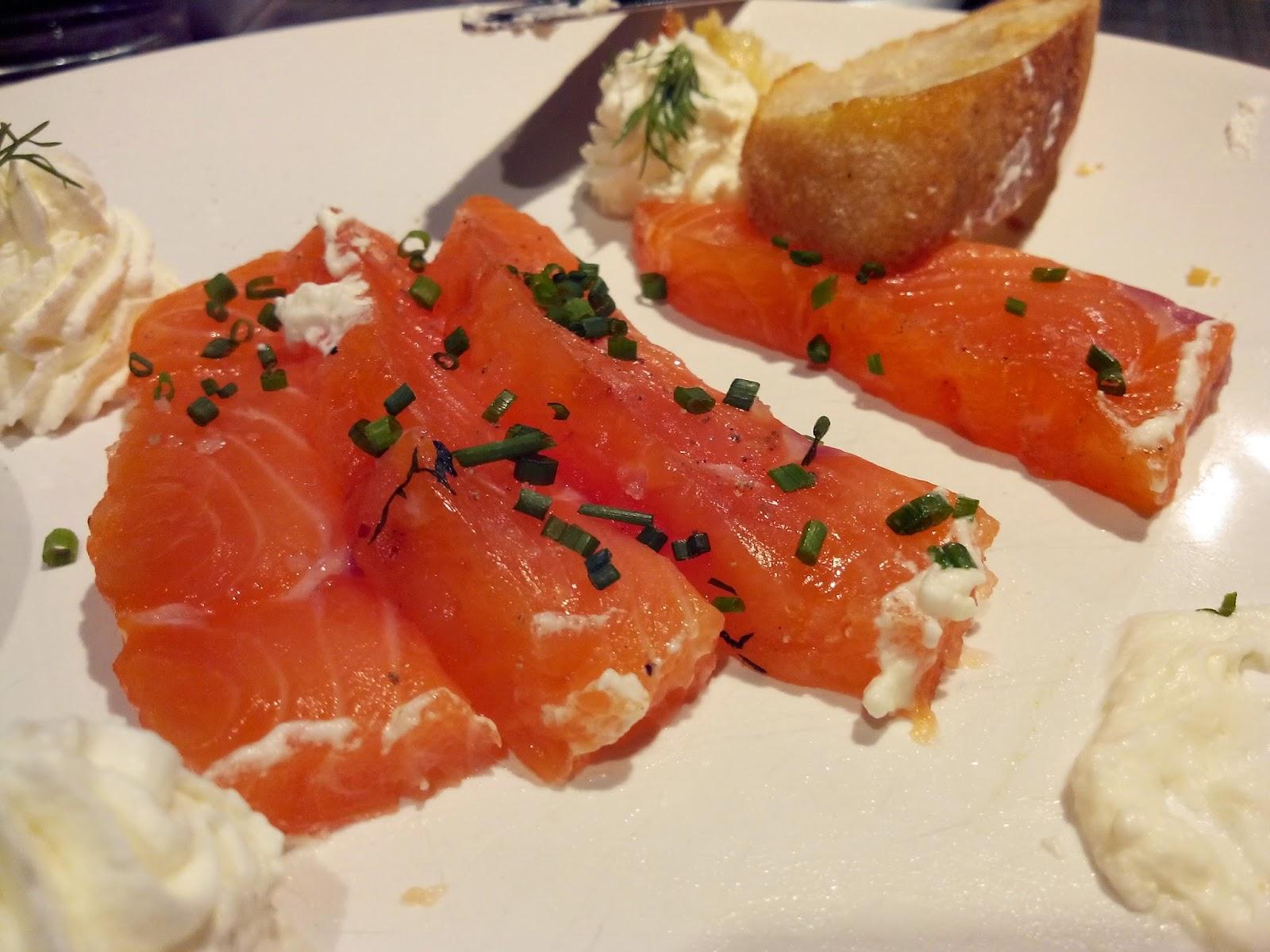 Chez tonton, Nantes, saumon, Bull'Elodie