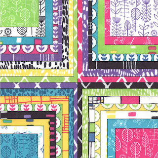 Moda SUMMERSVILLE SPRING Quilt Fabric by Lucie Summers