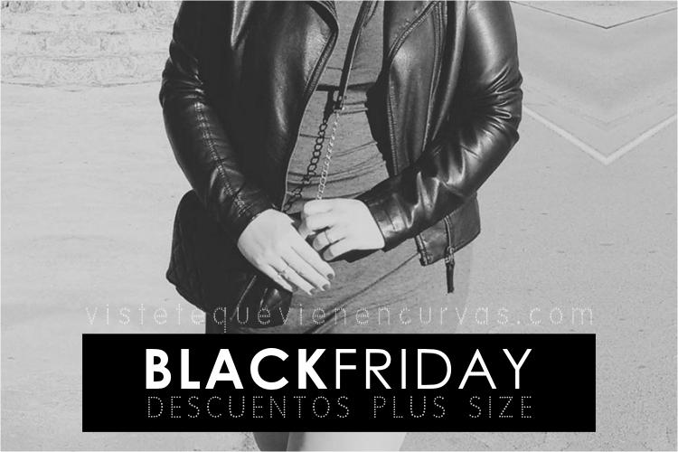 Black Friday · Descuentos Tallas Grandes