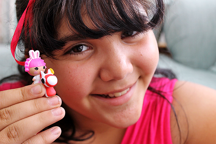 Collectible LaLaLoopsy Tinies make great stocking stuffers!