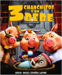 3 Chanchitos y un bebe / Unstable Fables: 3 Pigs & a Baby