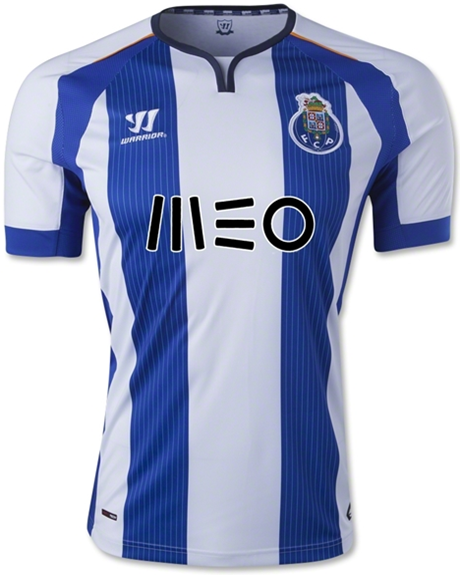 New FC Porto Warrior Jersey 2014-15- FCP Home Kit 14-15